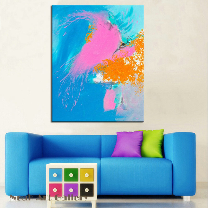 High Quality Contemporary Abstract Wall Art On Canvas Acrylic ...