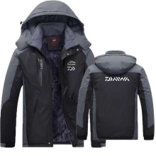 DAIWA одежда для рыбалки зима осень зима водонепроницаемые теплые куртки для рыбалки мужские флисовые толстые уличные рубашки для рыбалки L-6XL