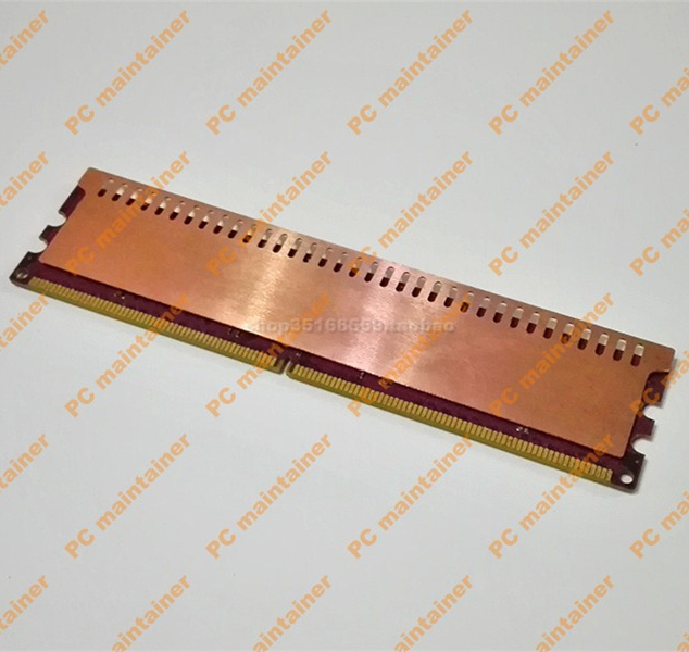 For Computer RAM Memory bar Copper Cooling Fin heat radiation Cooler silent heat sink radiator 0 dB 1u server computer copper radiator cooler cooling heatsink for intel lga 2011 active cooling