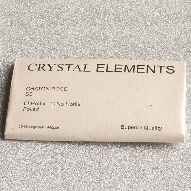 YANRUO 2088NoHF 8 Big 8 Small Non Hotfix DIY Strass Crystal Rhinestones Stick On Nail Art Decorations DIY Needlework Clothes 5