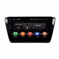 Android 8.0 Octa Core 10.1 Car DVD Multimedia GPS for Skoda Superb 2015 2016 With Radio 4GB RAM Bluetooth WIFI USB DVR 32GB ROM