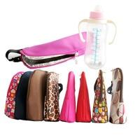 Portable Baby Feeding Milk Warmer Bag Outdoor Kid Stroller Keep Warm Cooler Bottle Bag Cloth Aluminium