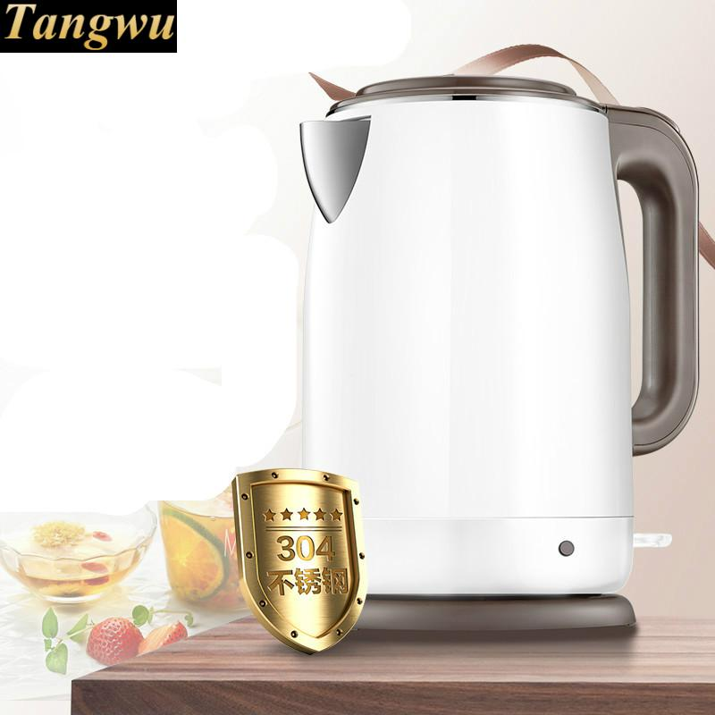 где купить electric kettle is insulated and scalding the 304 stainless steel house 1.7 L дешево