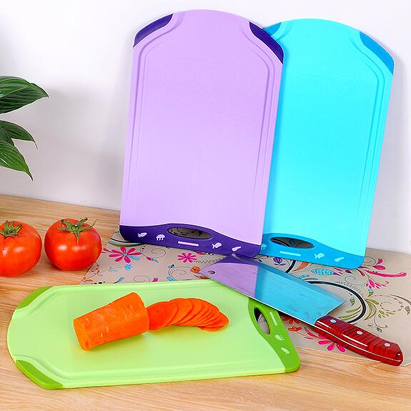 Thick Plastic Non Slip Cutting Board Meat Vegetable Fruit Chopping Block  Kitchen Accessories Cooking Tool