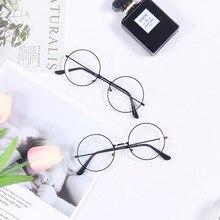 אופנה קישוט תוספות פשוט סגנון שחור מסגרת משקפיים עבור תמונות סטודיו אביזרי צילום אבזרי