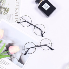 Fashion Decoration INS Simple Style Black Frame Glasses for Photos Studio Accessories Photography Props