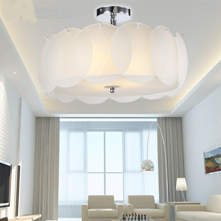 Petal pumpkin pendant lights glass modern crystal lighting living room hotel ceiling lamp bedroom D 40CM 50CM hones lighting CL