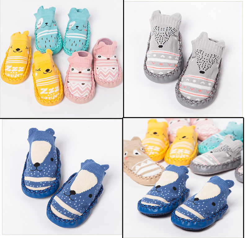 2018 child shoes spring new style baby antiskid soft floor shoe 0-1-2years old school