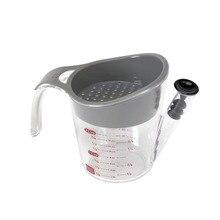 Кухонная утварь ZORASUN, инструменты для приготовления мяса, 2 чашки, жировой сепаратор, с противоскользящей ручкой, мерная чашка, кухонные принадлежности