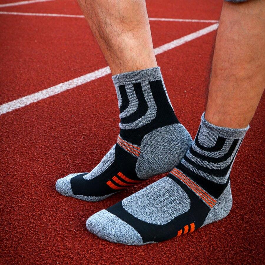 1 lot = 5 pari Pamučne čarape za kompresije za muškarce trekking - Donje rublje - Foto 5