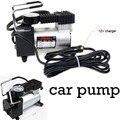 12V автомобильный инфлятор Электрический насос для шин металлический корпус с 3 пневматическими насадками портативный мини автомобильный в...