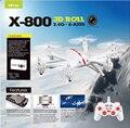 Envío gratis MJX X800 2.4 G 6-Axis RC Quadcopter Drone puede añadir C4005 ( FPV ) actualización de la cámara MJX X600 X400