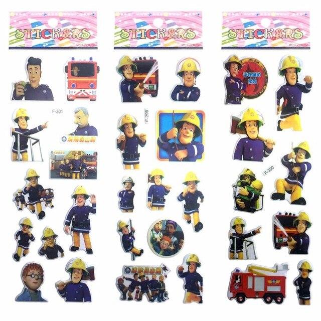 Image is loading Reminisce-Firefighter-Stickers-Scrapbooking-12x12-FLT-100- Fireman