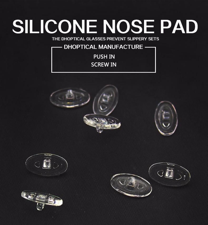 Silicone nose por, очков носоупоры, 500 шт. носоупоры очки, nosepads, очки аксессуар, часть очки, бесплатная доставка