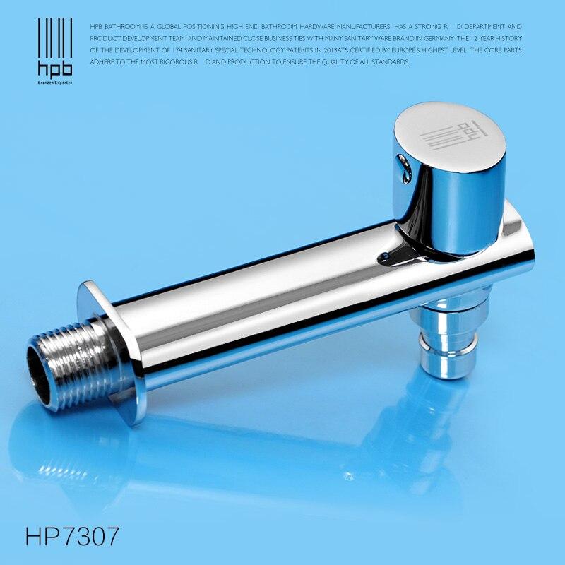 HPB laiton lave-linge robinets d'extérieur Robinet Bibcock buanderie utilitaire robinets Robinet HP7307