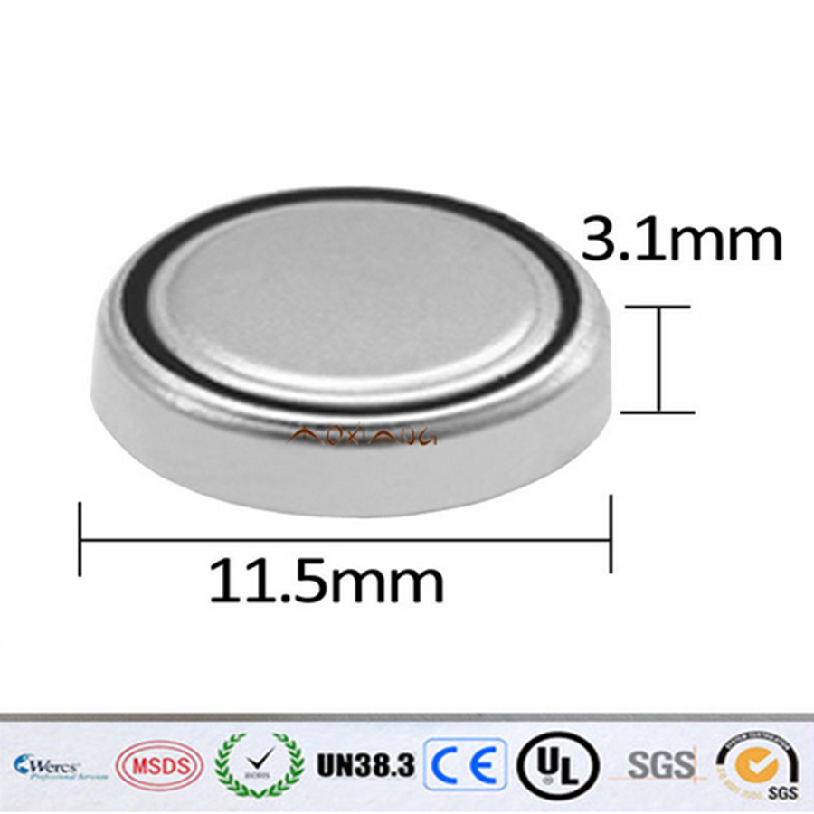 20 шт. 1.5 В AG10 кнопки батарея 389a L1131 189 389 LR1130 SR1130 LR54 часы игрушки часы аккумулятор
