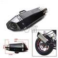 Akrapovic Scooter motorcycle escape pipe Exhaust Muffler pipe For Yamaha YZF R1  2004 2005 2006 2007 2008 R6 R6S