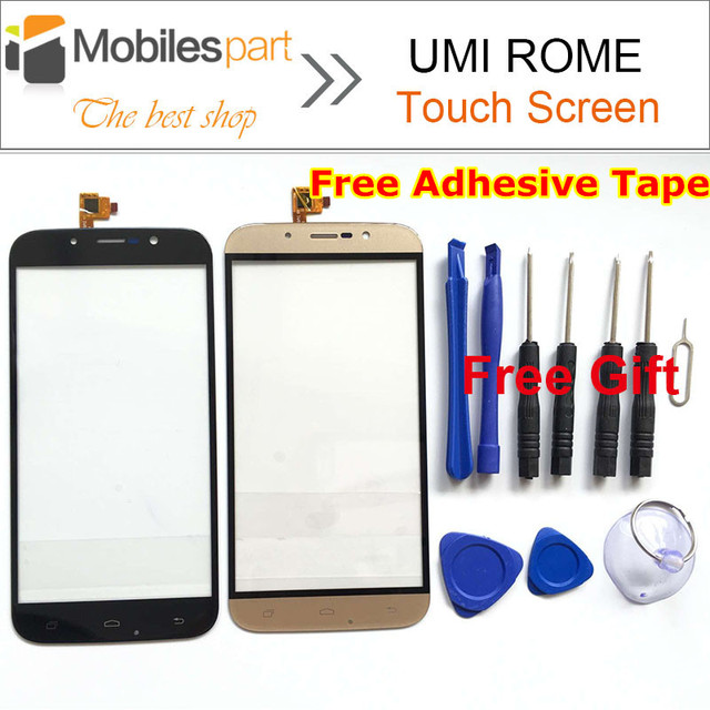 Umi Roma Pantalla Táctil 100% Pantalla Táctil de Reemplazo Del Panel Digitalizador Original para Umi Roma Smartphone En Stock