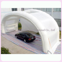 Outdoor Shell Shape Folding Waterproof Inflatable Car Shelter,Mobile Inflatable Car Wash Shelter