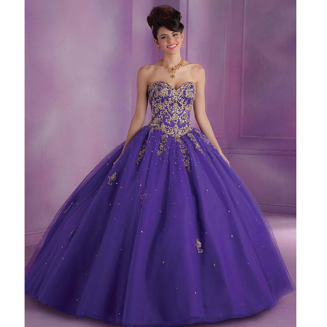Vestido Debutante Red/Purple Quinceanera gown Ball Gowns Sweet 16 ...