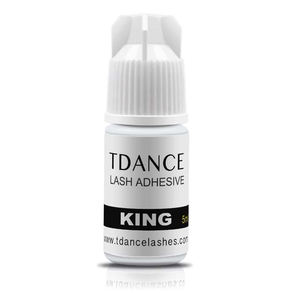 fcc53fa2c94 TDANCE 5ml KING Sensitive Adhesive 3-4 Seconds dry no odor no simulation  eyelash glue