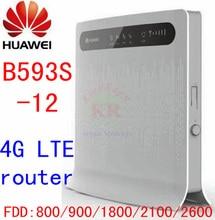 Huawei B593s-12 4g spouse router  4g cpe router  4g mifi router  4g automotive wifi pk e5186 b683 e5172 e5770