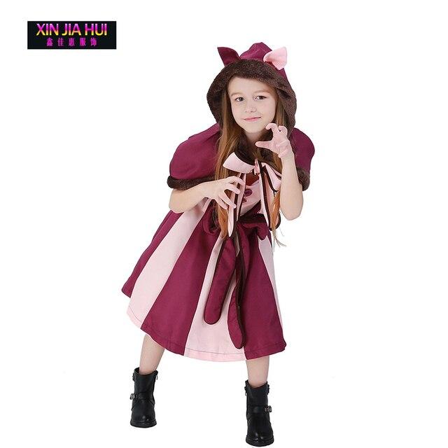 Luxe Halloween Kerst Dress Up Cose Jurk Sprookje Leuke Kat Meisje