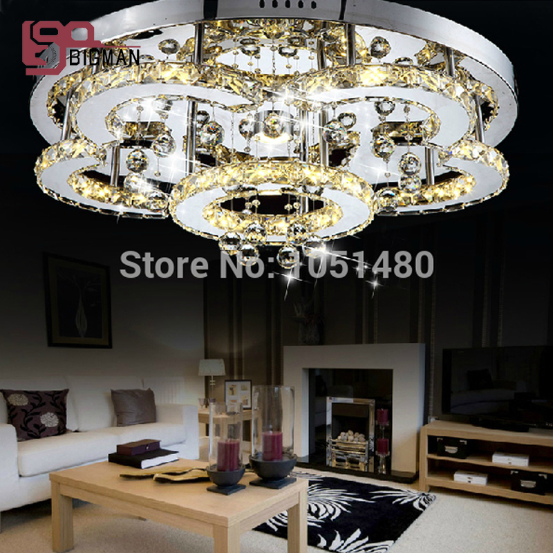 new design ceiling LED chandelier crystal lamp home lighting Dia60cm ...