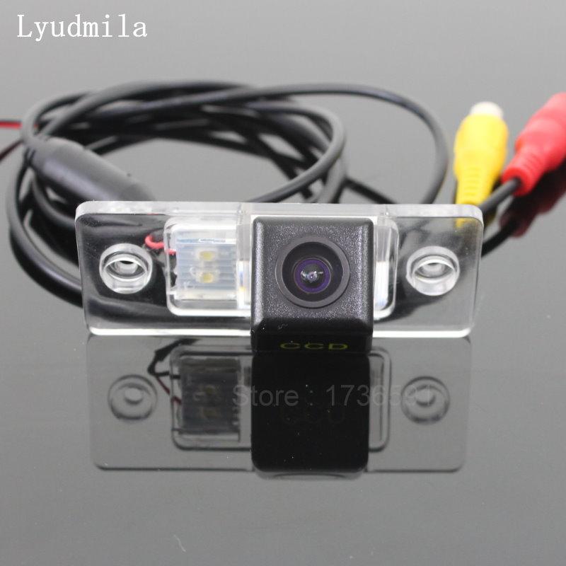 Lyudmila FÜR Audi A3 (S3 8L) A4 S4 RS4 (B5 8D) 1994 ~ 2003 auto Rückansicht Kamera/HD CCD Nachtsicht/Rückfahr Back up Kamera
