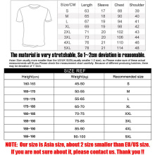 Men's V-Neck Tops Tees