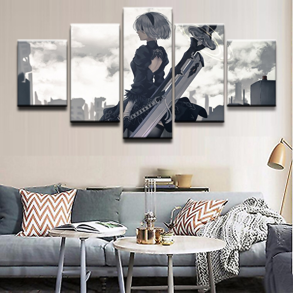 Modular Pictures Wall Art Canvas Hd Prints Posters 5