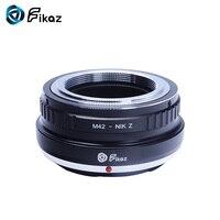 Fikaz For M42 Nikon Z Lens Mount Adapter Ring for M42 42mm Screw Lens to Nikon Z Mount Z6 Z7 Camera