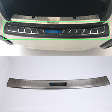 OUBOLUN stainless steel exterior car accessories rear bumper foot plate cover high quality For SUBARU XV 2017 abs car accessories car body kits exterior rear bumper foot plate 1pcs for 2018 mercedes benz vito