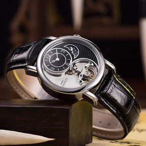 Роскошные мужские часы TIME 100, автоматические механические часы, мужские деловые водонепроницаемые спортивные наручные часы, новые мужские ...