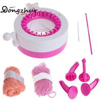 Dongzhur DIY Manual Hats Scarves Knitting Machine Toys For Girls Gifts Kids Play A House Game Weaving Loom Toy Wool Smart Weaver