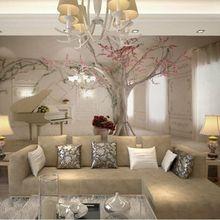 benutzerdefinierte jeder gre 3d wandbild tapeten fr wohnzimmer moderne mode schne 2015 neue fototapeten baum - Schone Tapeten Furs Wohnzimmer
