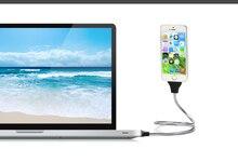 Телефон Зарядное устройство Car Dock гибкие встать зарядный кабель + спиральный держатель в одном для IPhone X 8 7 6S плюс 5S 5 для Samsung HTC Andriod