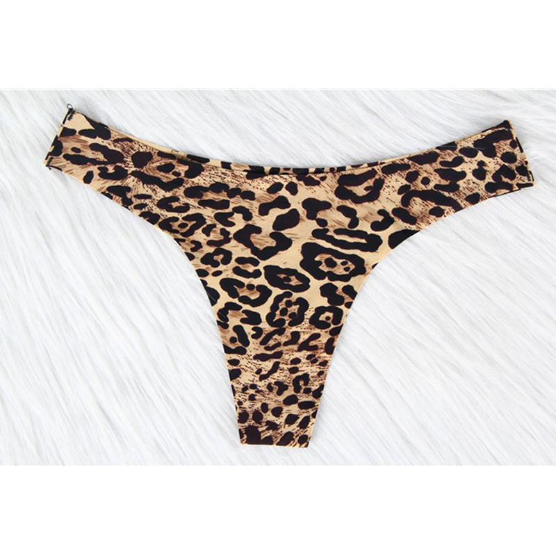97add48d3 W0308 Wholesale and retail leopard underwear fashion style comfortable  women panty low waist sexy seamless panties