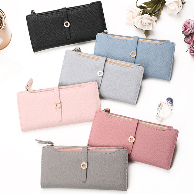 Women's Fashion Top Quality Leather Wallets