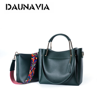 DAUNAVIA 2017 New Women S Bag Korean Version Of The Portable Shoulder Bag Large Capacity Fashion