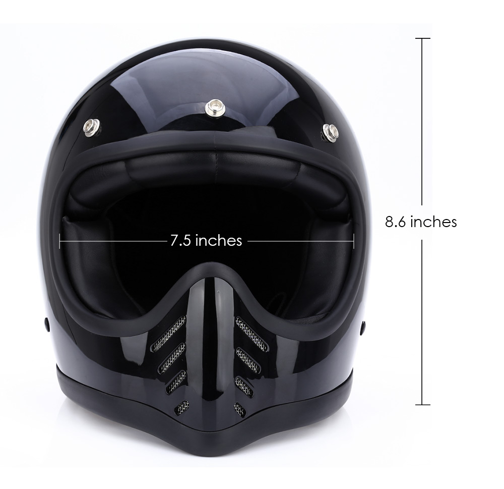 Motorcycle Protective Gear High Quality Lightweight Motorcycle Helmet Safety Retro Full Face Detachable Helmet 1000m motorcycle helmet intercom bt s2 waterproof for wired wireless helmet
