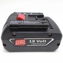 18 v celular Recarregável Li-ion Battery pack 5000 mah para BOSCH broca chave de fenda Elétrica sem fio BAT609, BAT609G, BAT618