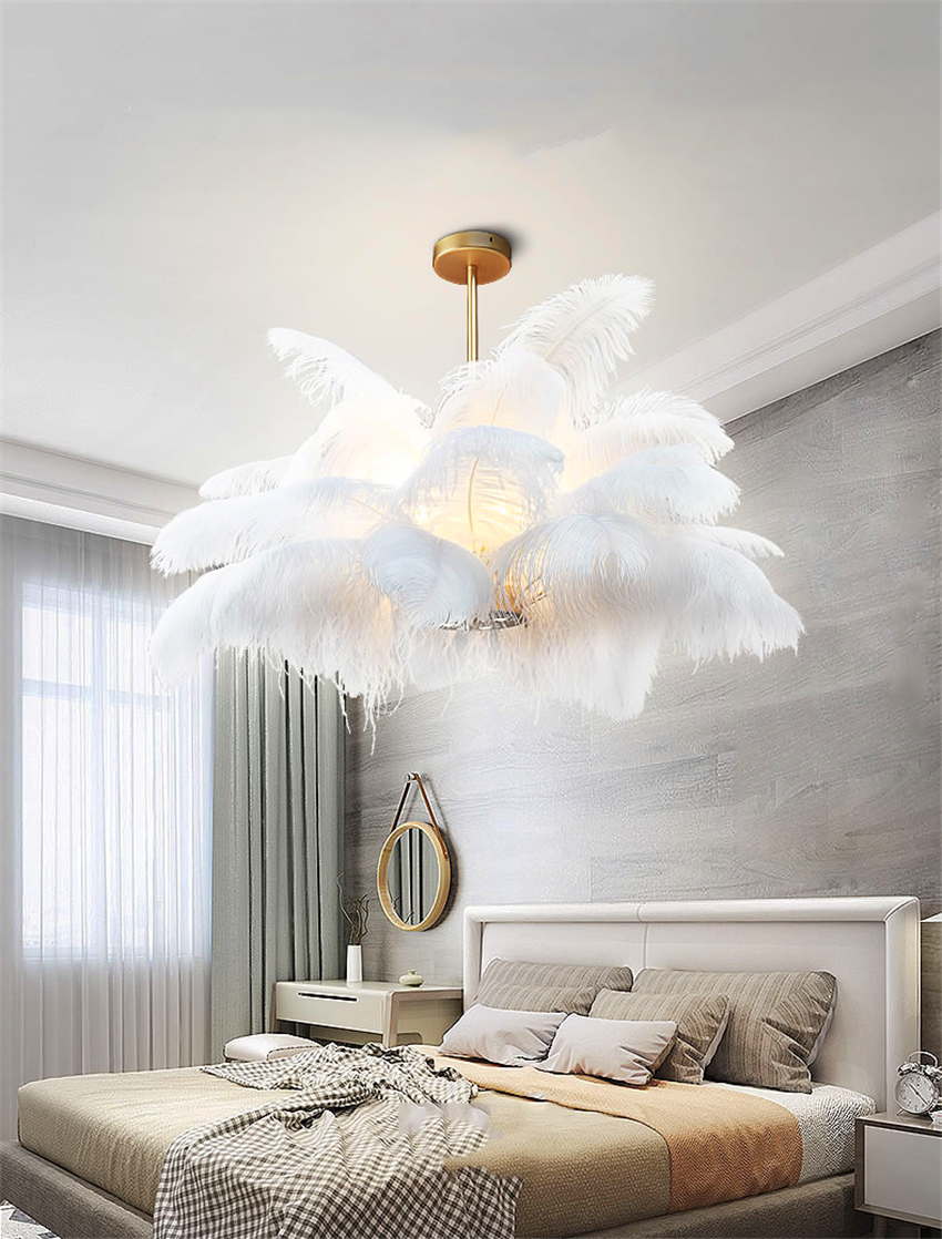 Hanging Feather Light