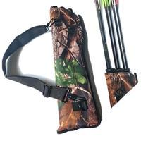 Large Capacity Outdoor Three Tube Arrow Holders Sac Bow Archery Arrow Bag Bow Quiver Hunting Sport