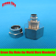 12mm OD Hose Barb Tail To 1/2 Inch BSP Female Thread Connector Joint SS 304 Stainless Steel Pipe Fitting