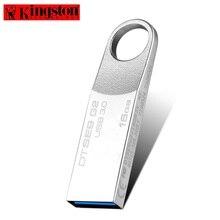 Kingston USB Flash Drive 16GB USB Three.zero Pen drive Metallic usb Stick Reminiscence Disk Customized Emblem cle usb3.zero Flash Memoria U Disk Pendrive