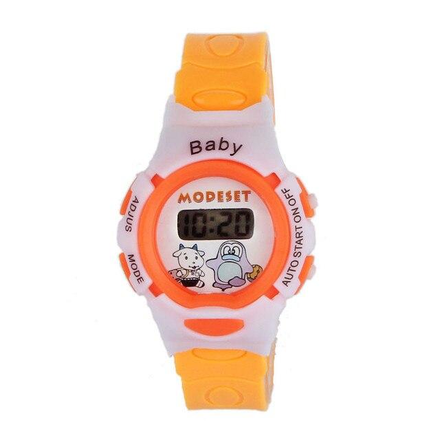 2ad113b571a9 Reloj digital Reloj tipo de cierre reloj digital chica banda tipo de  material niños pricess relojes