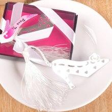 Металл Craft творческий высокая обувь на каблуке Закладки вечеринок Романтический Китайский Стиль закладки Свадьба День святого Валентина гостей подарки