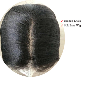 Image 5 - Silk Base Closure Body Wave Remy Peruvian Human Hair 4x4 Silk Closure Middle Part Free Part Bleached Knot Free Shipping Beeos