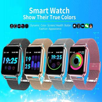 For Samsung Galaxy S10e S10 S10+ S9 S8 Bluetooth Smart Watch Men Waterproof Blood Pressure Fitness Tracker Heart Rate Smartwatch